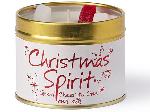 Lily Flame 'Christmas Spirit' Scented Candle Tin