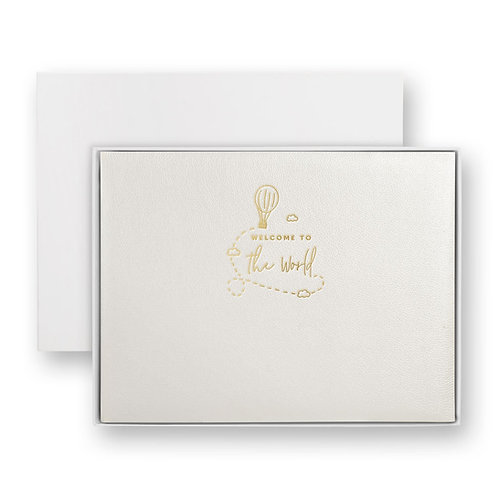 Katie loxton 'welcome to the world' white photo album