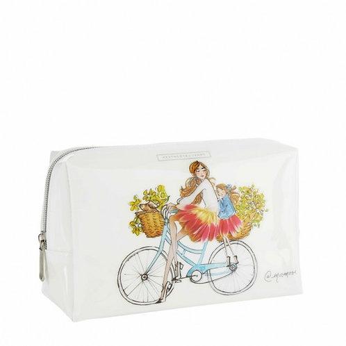 Heath cote and ivory 'sunflower girls' cosmetics bag