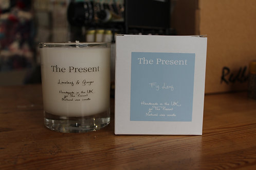 The Present Lime Leaf and Ginger Scented Candle