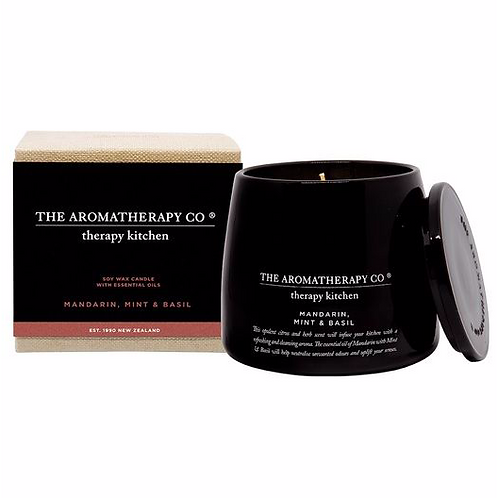 The aromatherapy co. mandarin, mint and basil candle