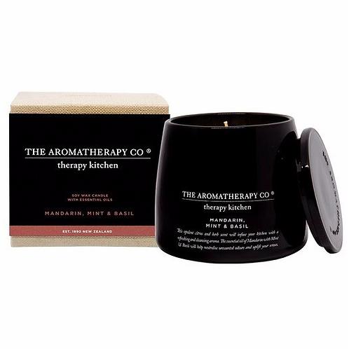 The aromatherapy co. lemongrass, lime and bergamot candle