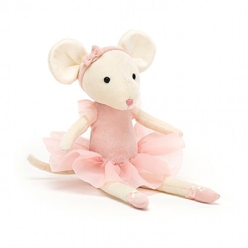 Jellycat pirouette mouse cuddly toy