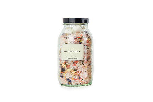 The English Flora Soothing Bath Salts