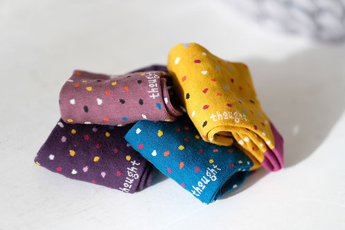 Thought Bamboo Socks Polka-dot Socks (mixed colours)