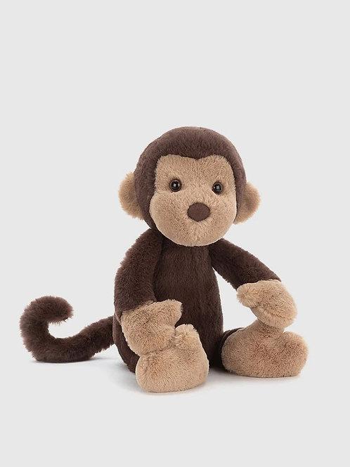 Jellycat Bashful Wumper Monkey cuddly toy