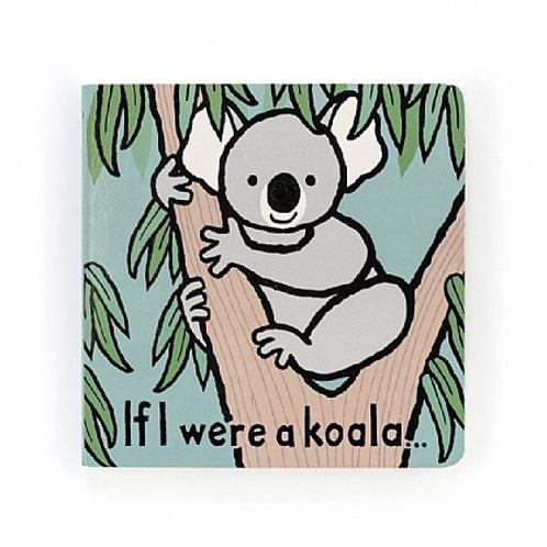 Jellycat 'if i were a koala' book