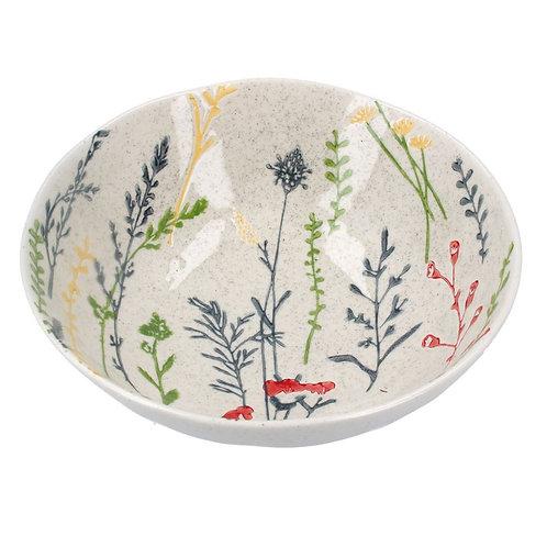 Gisela graham meadow ceramic bowl