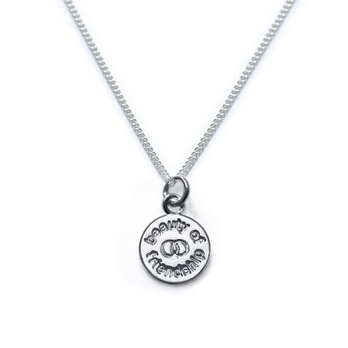 Tales from the earth 'beauty of friendship' sterling silver necklace