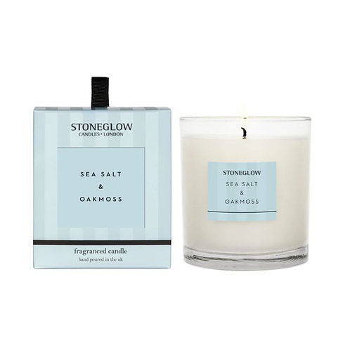 Stoneglow sea salt and oakmoss Scented Candle