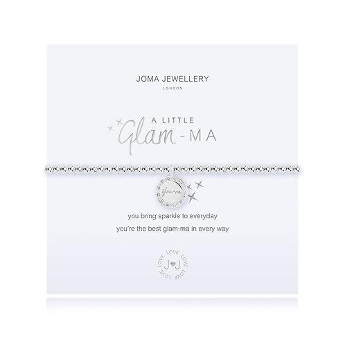 Joma Jewellery 'a little glam-ma' silver plated bracelet
