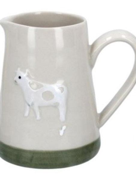 Gisela Graham mini ceramic cow jug
