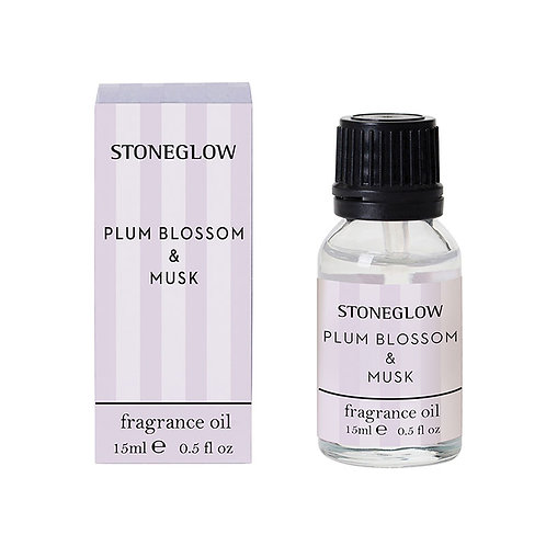 Stoneglow Modern Classics Plum and Musk Diffuser Oil, 15ml