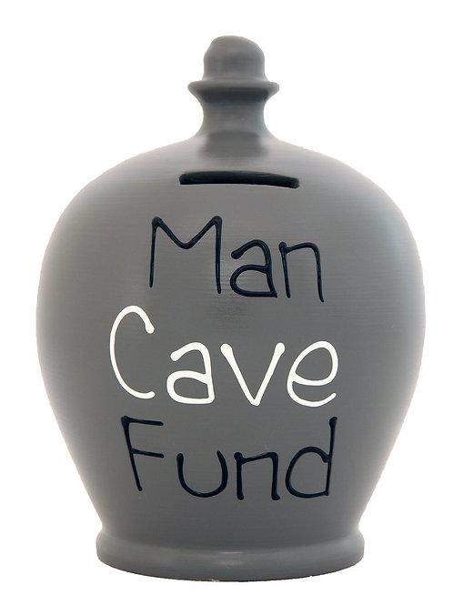 Terramundi grey 'man cave fund' pot