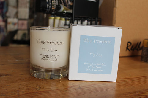 The Present Fresh Cotton Scented Candle