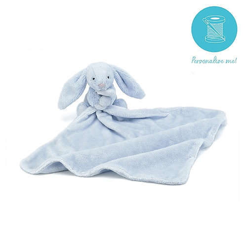 Jellycat Bashful Blue/Pink Bunny Soothers