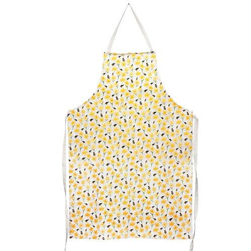 Gisela Graham bee/buttercup print apron
