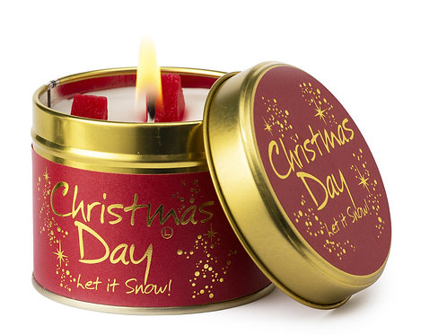 Lily Flame 'Christmas Day' Scented Candle Tin