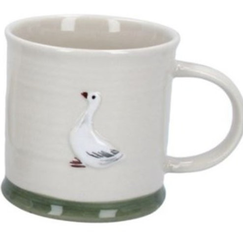Gisela Graham mini ceramic goose mug