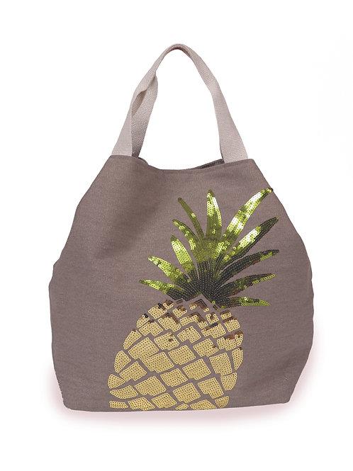 Powder Boho Bag Pineapple - Grey