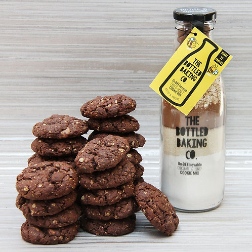 The bottled baking co. Un-BEE-lievable Choco-Honey Cookies