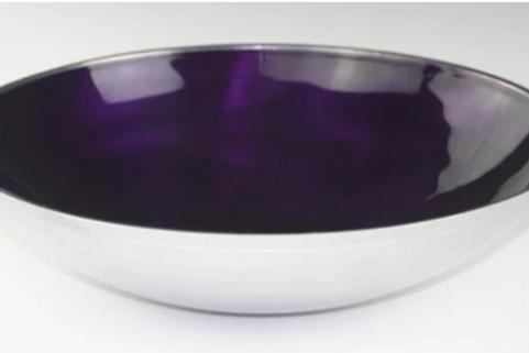 Azeti recycled aluminium large bowls