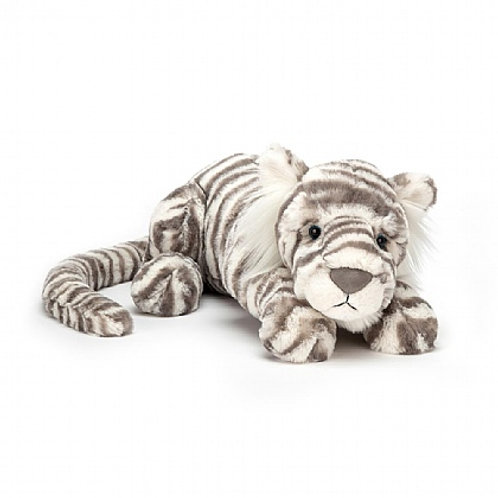 Jellycat Sasha snow tiger