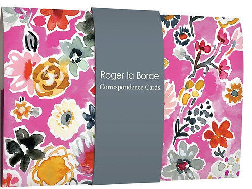 Roger la borde Jennifer Orkin Lewis correspondence cards