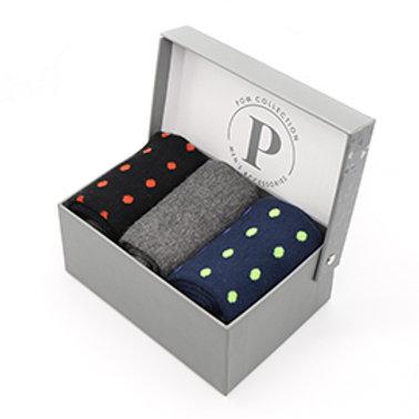Pom triple sock box