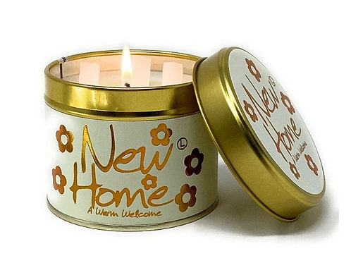 Lily Flame 'New Home' Scented Candle Tin