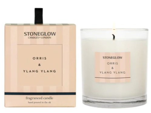 Stoneglow Orris and Ylang Ylang Scented Candle