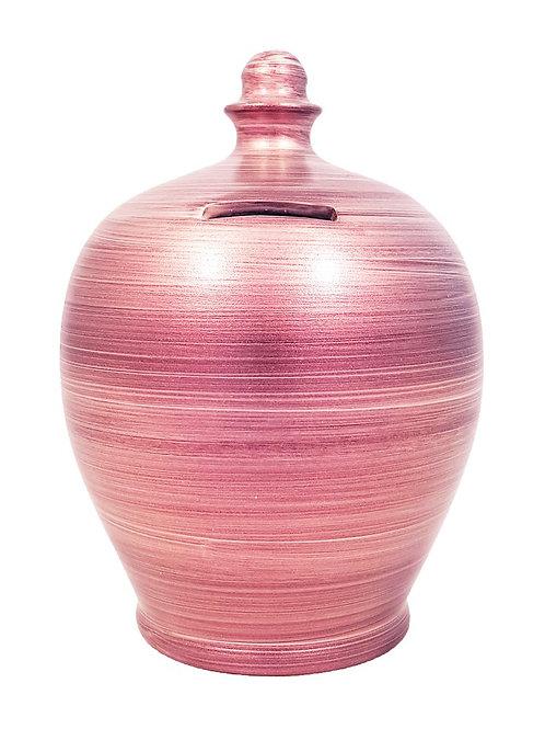 Terramundi metallic pink pot