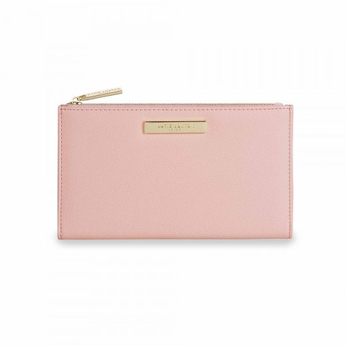 Katie loxton pastel pink fold-out purse