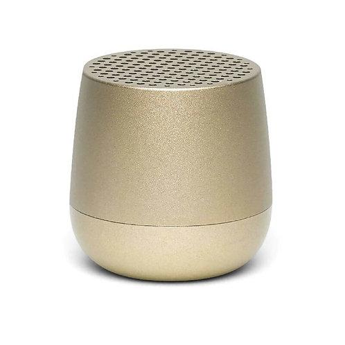 Lexon mino+ wireless bluetooth speaker gold