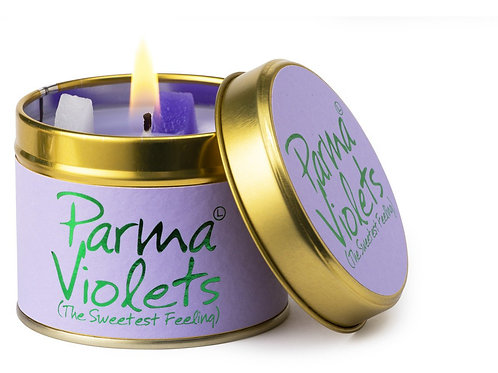 Lily Flame 'Parma Violets' Scented Candle Tin