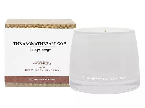 The aromatherapy co. sweet lime and mandarin candle