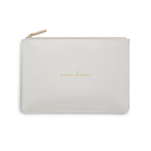 Katie Loxton Quote Pouch 'beautiful dreamer'
