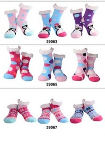 Nuzzles Womens Non-Skid Sole Socks Part 2