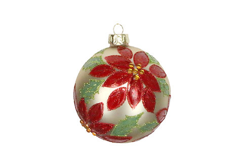 Gisela Graham Red and Gold Christmas Bauble