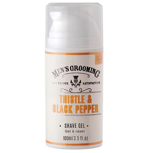 Men's Grooming Thistle & Black Pepper shave gel