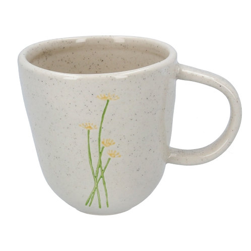 Gisela Graham ceramic yellow daisy mug