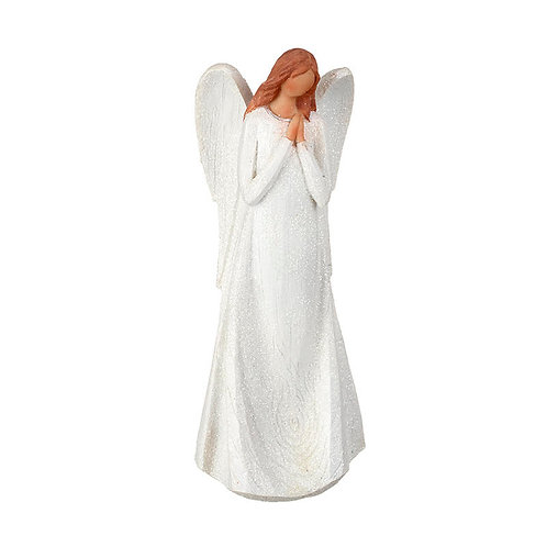 Heaven Sends Wooden Angel Model Christmas Decoration (sold as single)