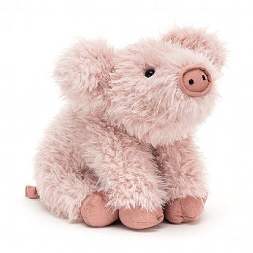 Jellycat curvie pig cuddly toy