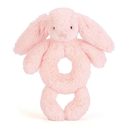 Jellycat Bashful Pink Bunny Grabber