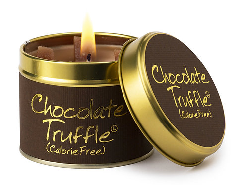 Lily Flame 'Chocolate Truffle' Scented Candle Tin