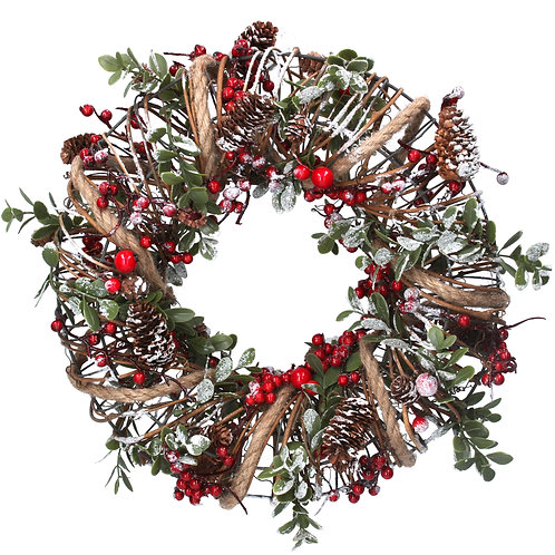 Gisela Graham Christmas Mixed Wreath