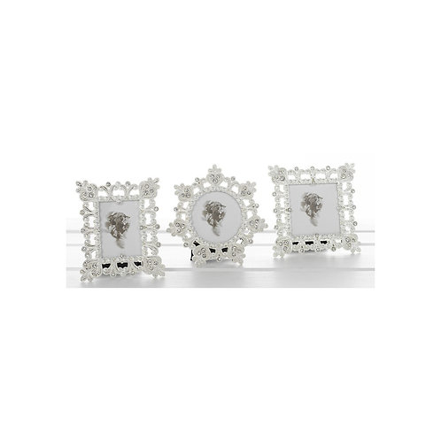 Shudehill white sparkle mini photo frame ()