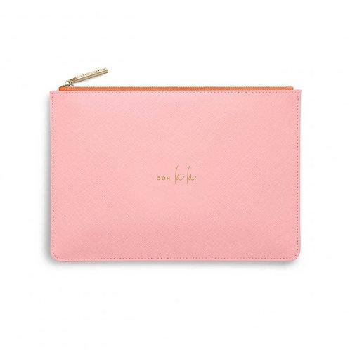 Katie Loxton Colour Pop 'ooh la la' pink and coral pouch