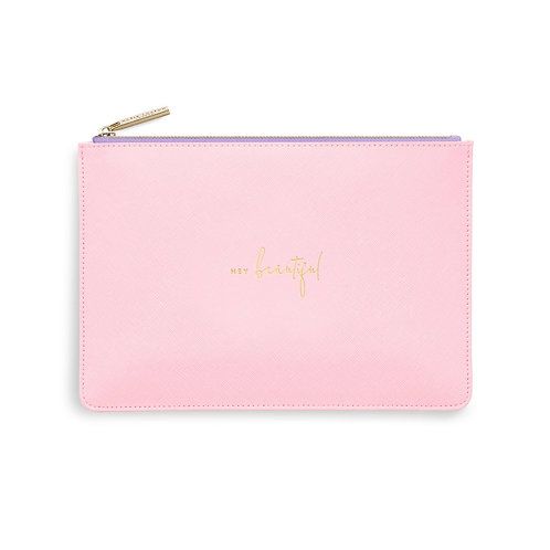 Katie loxton 'hey beautiful' colour pop pouch