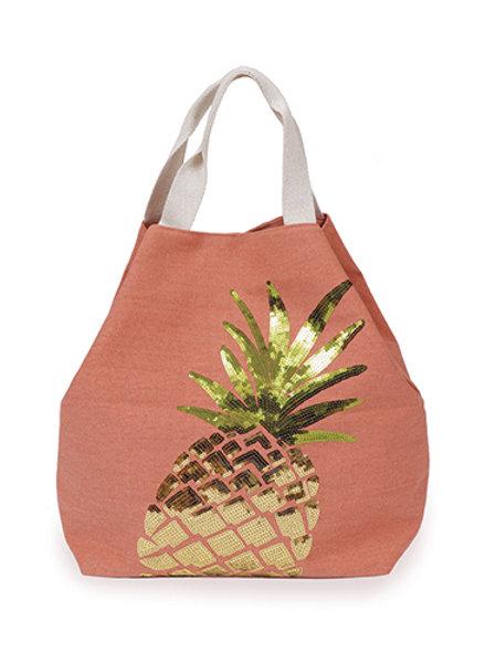 Powder Boho Bag Pineapple - Coral